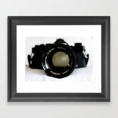 Mount Olympus Framed Art Print