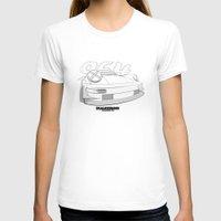 porsche T-shirts featuring Porsche 964 by dsalni
