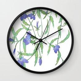 Lobelia Wall Clock