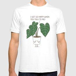 Plant talk T-shirt