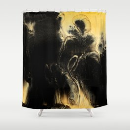 Abstract acrylic painting 11 Shower Curtain