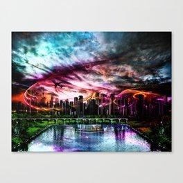 Neuanfang Canvas Print