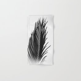 Palm: The Abstract in Black Hand & Bath Towel