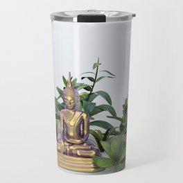 Buddha in the Garden Travel Mug