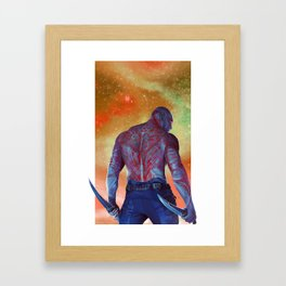 Drax the Destroyer | Guardians of the Galaxy Framed Art Print