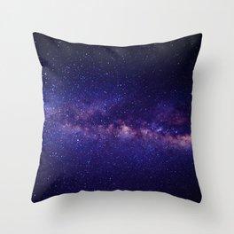 Galaxy Design Throw Pillow