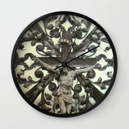 nuestro salvador Wall Clock