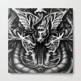 Alien Flesh #2 Metal Print