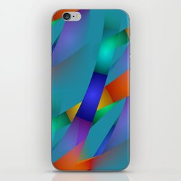 3D abstraction -18- iPhone Skin