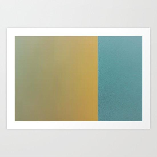 On an Edge 2/4 Art Print