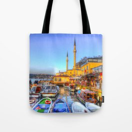 Picturesque Istanbul Tote Bag