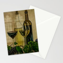 Vintage Winery Stationery Cards