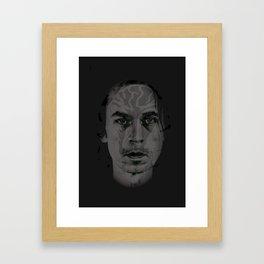 (((::Acid Cobra::))) Framed Art Print
