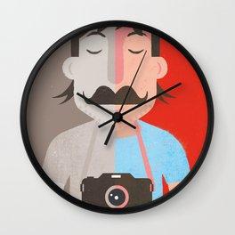 Moustachu Wall Clock