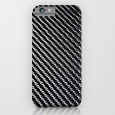 Carbon Fiber texture Slim Case iPhone 6