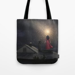 The Stars are Falling Tote Bag