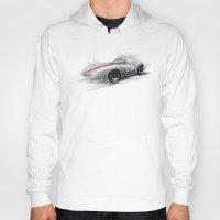 racing Hoodies featuring racing car by tatiana-teni
