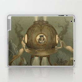 """The Bathysphere"" by David Delamare Laptop & iPad Skin"