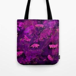 Watercolor Tardigrade Illustration Tote Bag