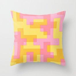 pixel 001 02 Throw Pillow
