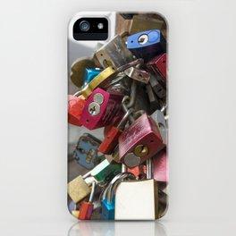 Heidelberg Love Locks iPhone Case