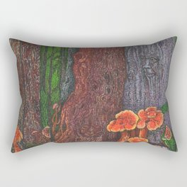 A Trip in the Forrest Rectangular Pillow