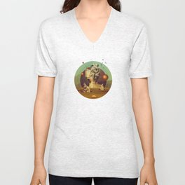 The Stinking Man Unisex V-Neck