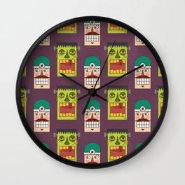 Halloween 2016 - Chasing Victor Wall Clock