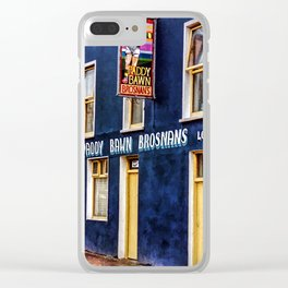 Paddy Bawn Brosnans Bar in Dingle Clear iPhone Case