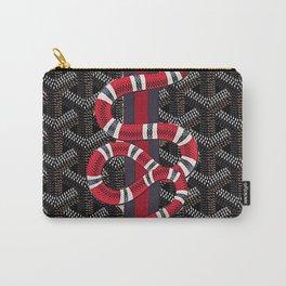 goyard snake black Carry-All Pouch