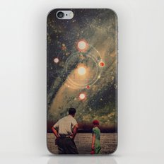 Light Explosions In Our Sky iPhone Skin