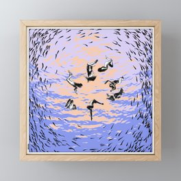 asc 867 - Les chants de l'aube (Hole in the sky) Framed Mini Art Print