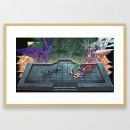 Xenoblade Chronicles 2 Diorama Framed Art Print