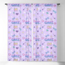 Game On (pastel) Blackout Curtain