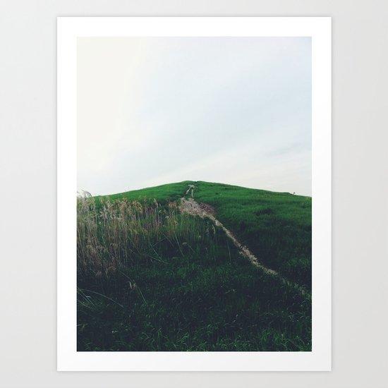 Hill Art Print