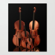 String Instruments Canvas Print