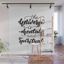 Lettering poster Wall Mural