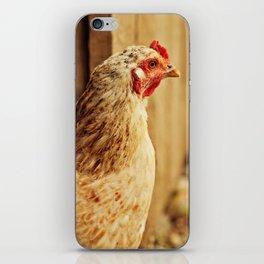 White Chicken iPhone Skin