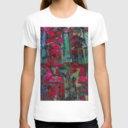 Psychedelic windows T-shirt
