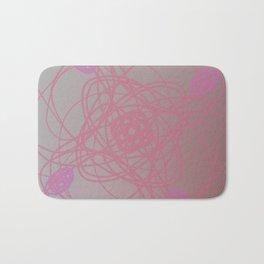 design element, pink Bath Mat
