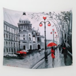 St. Petersburg Admiralty Avenue Wall Tapestry