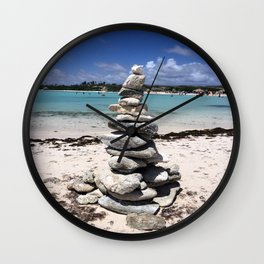 Wishing stones Wall Clock