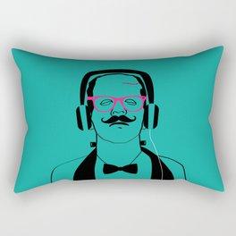 Hipsterstein Rectangular Pillow