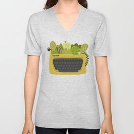 Be Unexpected Unisex V-Neck