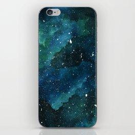 Emerald Galaxy iPhone Skin