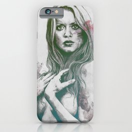 Gloria: Purple iPhone Case