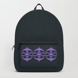 Alien crop circle, Sacred geometry Backpack