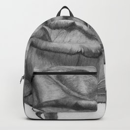 OPEN UP IN BLACK & WHITE Backpack