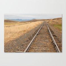 Iron Trail Canvas Print