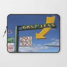 Gas for Less Laptop Sleeve
